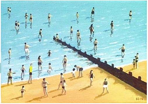 Summer paddlers