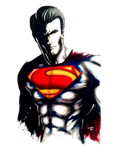 Superman shadow