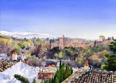 The Alhambra, Granada and the Sierra Nevada