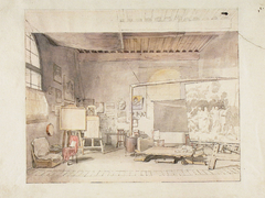 The Atelier of Alexander Ivanov in Rome