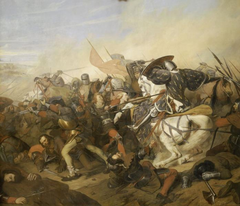 The Battle of Cassel on 23rd August 1328