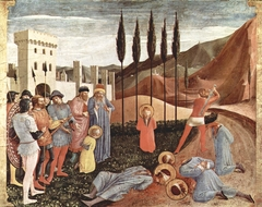 The Beheading of Saints Cosmas and Damian