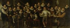 The Company of Captain Gillis Jansz Valckenier and Lieutenant Pieter Jacobsz Bas, Amsterdam, 1599