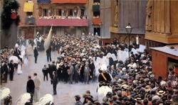 The Corpus Christi Procession Leaving the Church of Santa Maria del Mar