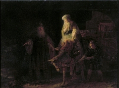 The Departure of the Shunammite Woman