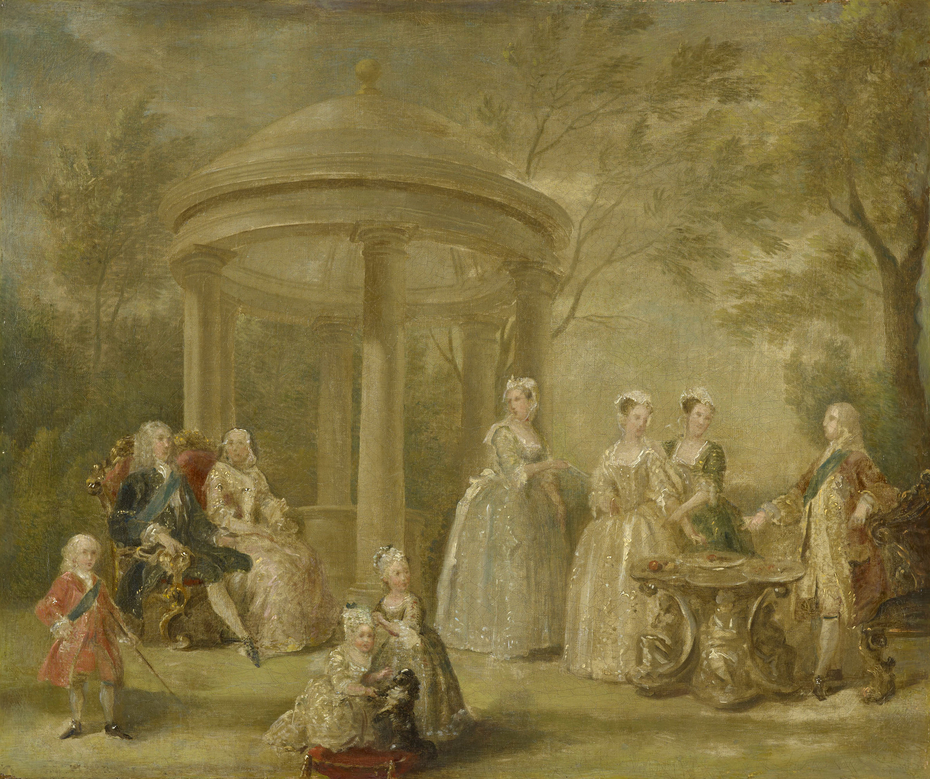 The Family of George II