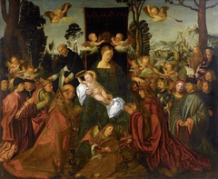 The Feast of the Rose Garlands