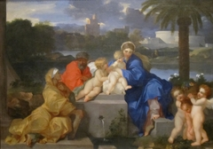 The Holy Family with Saints Elizabeth and the Infant John the Baptist