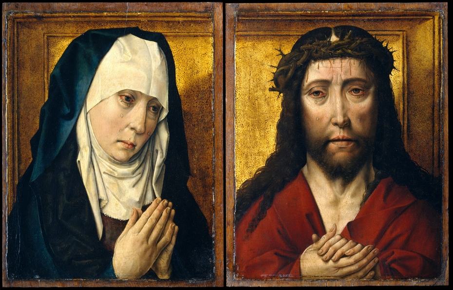 The Mourning Virgin; The Man of Sorrows