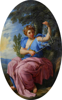 The Muse Terpsichore