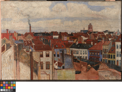 The rooftops of Ostend