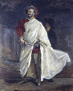 The Singer Francisco d'Andrade as Don Giovanni in Mozart's Opera