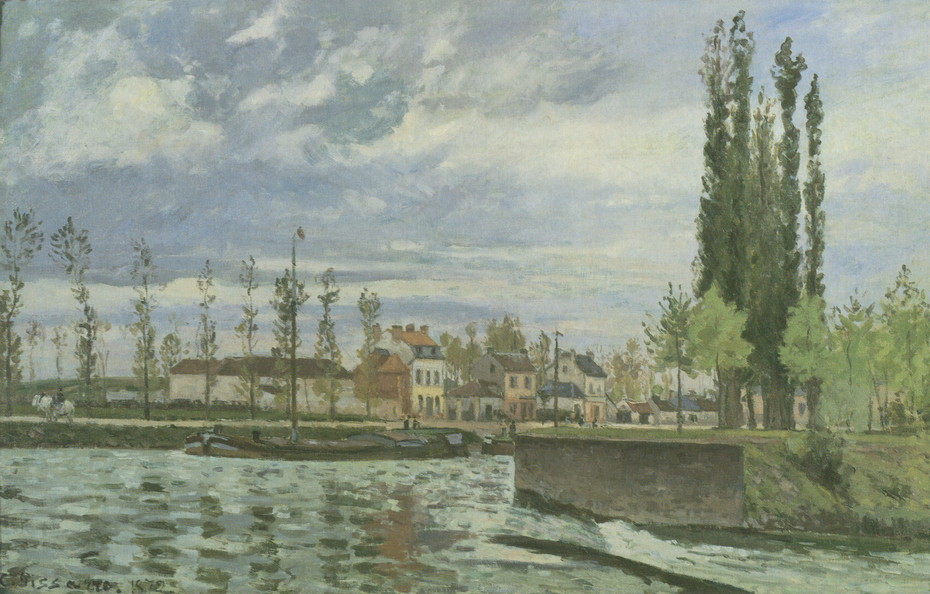 The Weir at Pontoise