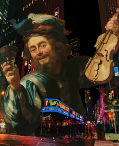 'They fiddler of Broadway'' A tribute to Gerard van Honthorst