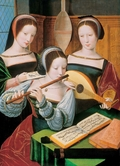 Three Female Musicians