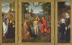 Triptych of Jean Des Trompes