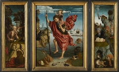Triptych St Christopher