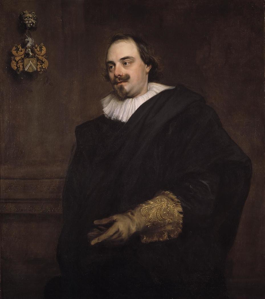 Portret van Peeter Stevens