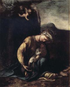 """La Madonna col Bambino, detta """"Zingarella"""""""