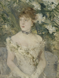 Jeune femme en toilette de bal (Young Girl in a Ball Gown)