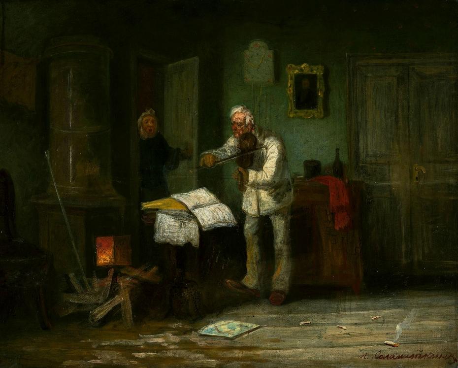 A fiddler