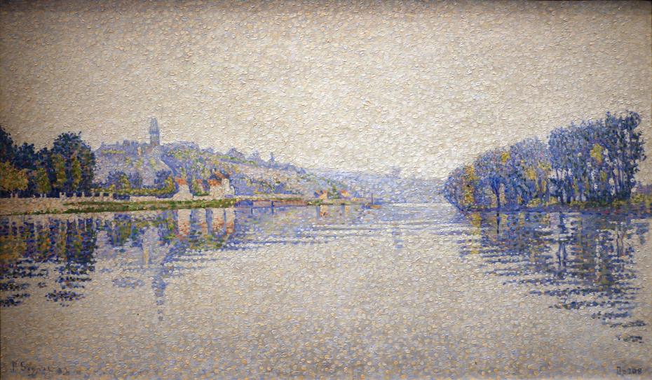 Banks of river Seine at Herblay