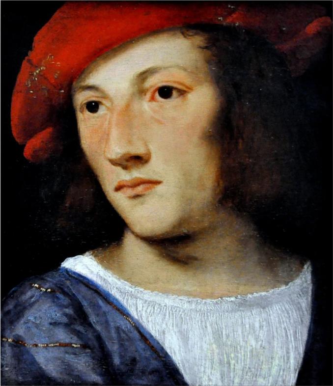Ritratto di giovane dal berretto rosso