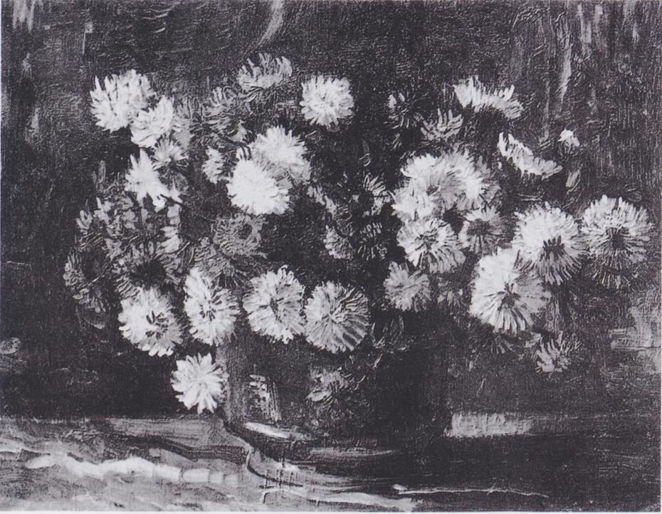 Bowl with Chrysanthemums