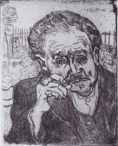 Portrait of Doctor Gachet with Pipe
