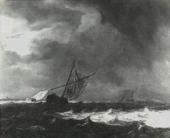 Vessels in choppy seas