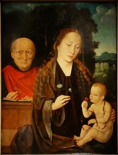 Vierge à l'Enfant avec un donateur