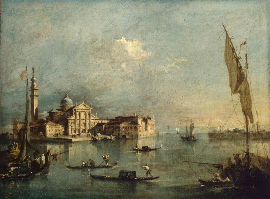 View of the Island of San Giorgio Maggiore