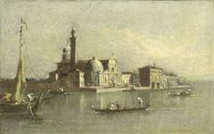 View of the Isola di San Michele in Venice