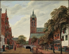 View of the Oude Delft Canal, Delft