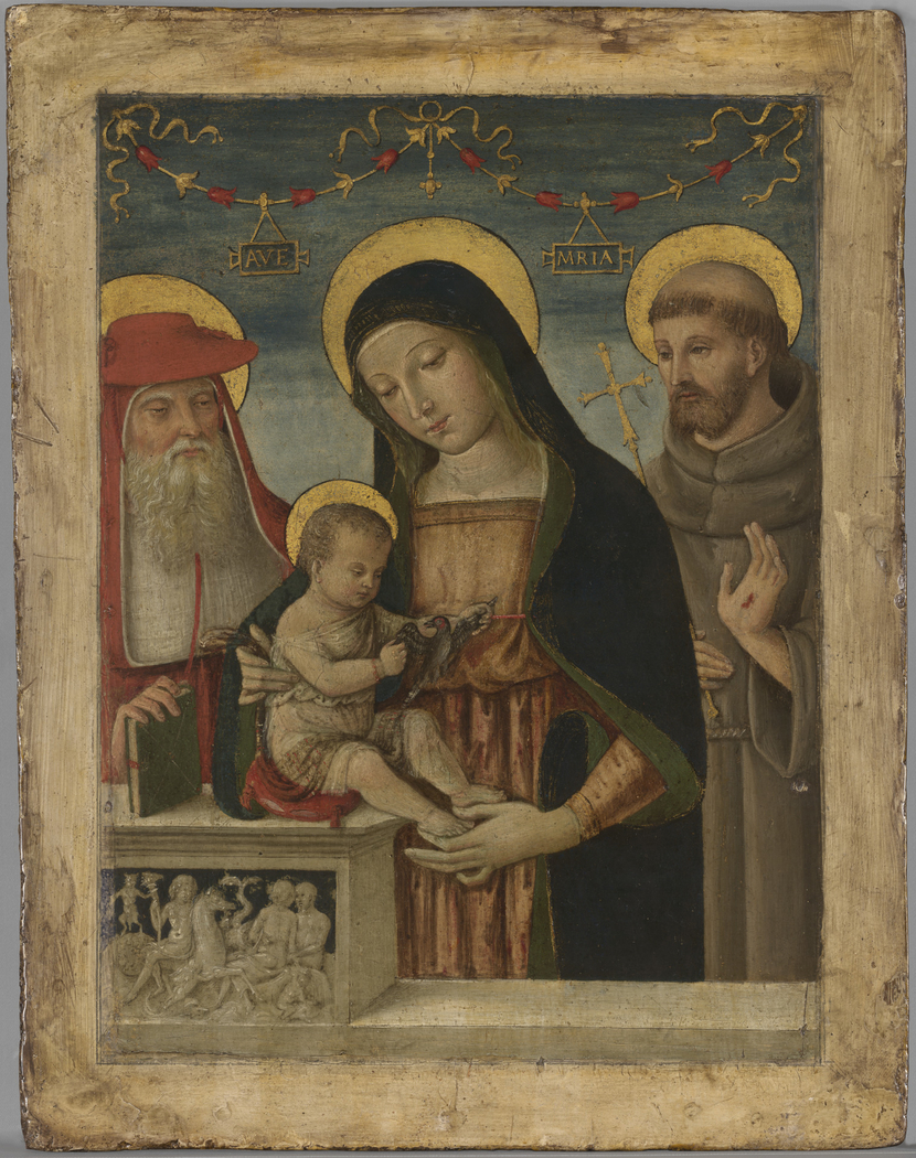 Virgin and Child with Saints Jerome and Francis ofAssisi