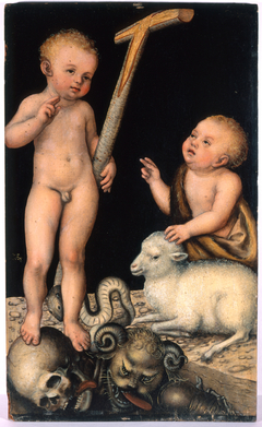 Young Jesus with Saint John the Baptist