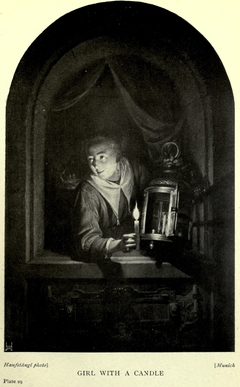 Young Woman with a Candle