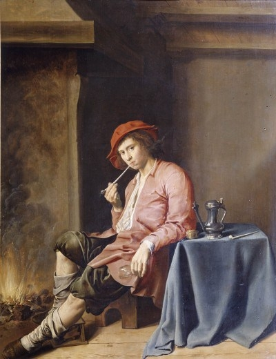 A Boy with a Pipe