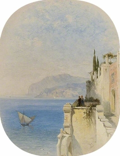 A view in Genoa