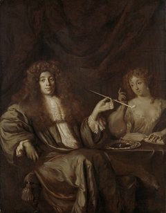 Adriaan van Beverland, Writer of Theological Works and Satirist, with a Prostitute