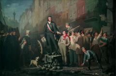 Alphonse Baudin (1811-1851) sur la barricade du faubourg Saint-Antoine, le 3 décembre 1851