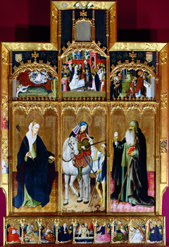 Altarpiece of Saints Ursula, Martin and Anthony