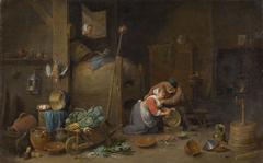 Alter und Küchenmagd