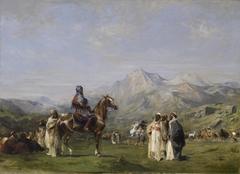 An Encampment in the Atlas Mountains