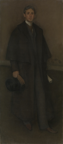 Arrangement in Flesh Color and Brown: Portrait of Arthur Jerome Eddy