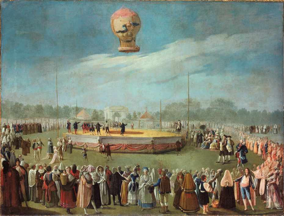 Ascent of a Balloon in the Presence of the Court of Charles IV