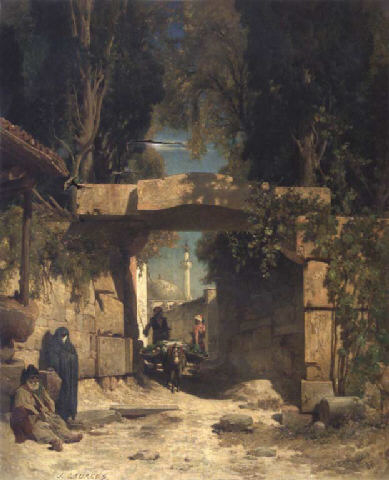 At the Gate of a Town in Asia Minor
