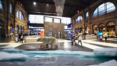 Augmented Reality Advertising Campaign – VIRTUAL POLAR BEAR By GameYan 3d Production HUB