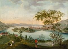 Bergen seen from Kronstad