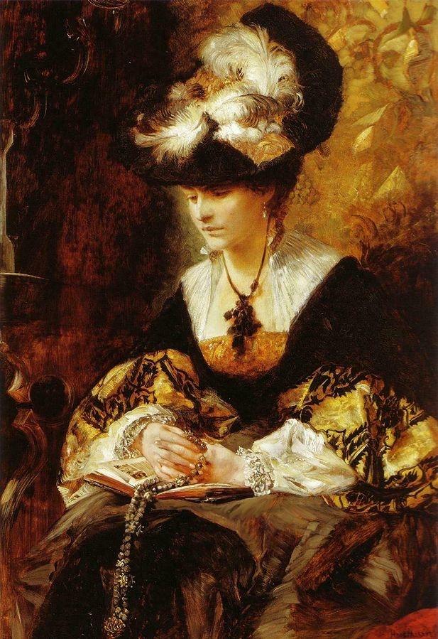 Bildnis Gräfin Palffy (Die Betende)